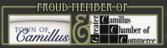 Proud member of Camillus Chamber of Commerce and Town of Cammillus